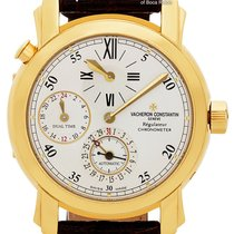 Vacheron Constantin Malte Yellow gold 39mm Silver United States of America, Florida, 33431