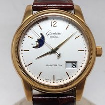 Glashütte Original Red gold Automatic Silver Roman numerals 39mm new Senator Panorama Date