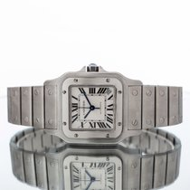 Cartier Santos Galbée Steel 32mm Silver Roman numerals United Kingdom, Essex