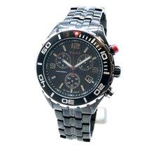 Timex Acciaio 44mm Cronografo T-2M758 nuovo Italia, Monte Urano