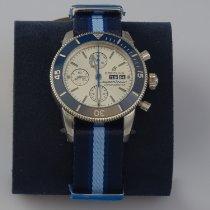 Breitling Superocean Héritage II Chronographe Stahl 44mm Grau Keine Ziffern