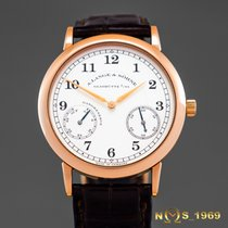 A. Lange & Söhne 1815 Or rose 36 case excl.crownmm Blanc Arabes