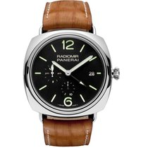 Panerai Radiomir 10 Days GMT Steel 47mm Black Arabic numerals United States of America, Pennsylvania, Holland