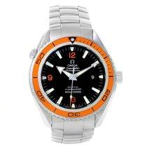Omega Seamaster Planet Ocean Orange Bezel Mens Watch 2208.50.00