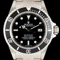 Rolex S/Steel Unworn Black Dial Sea-Dweller NOS Gents B&P 16600