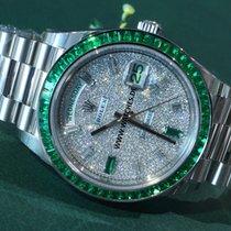 Ρολεξ (Rolex) Day-Date Platinum Emerald extremely rare -...