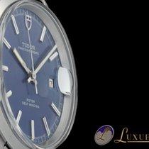 Tudor Prince Oyster Date Blau Edelstahl Automatik 38mm