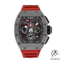 Richard Mille RM 011 RM011 Sehr gut Titan 50mm Automatik
