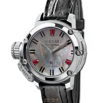 U-Boat Chimera 40 SS Ruby Mother Of Pearl Steel Ref. 8017