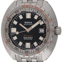 Doxa : Sub 5000T Sharkhunter :  SUB5000T :  Stainless Steel