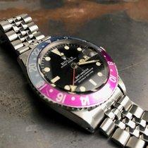 Rolex 1675 GMT Master Fuchsia Bezel Long E