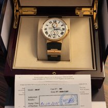 Ulysse Nardin Marine Chronometer 43mm Or rose 43mm Blanc Romains