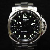 Panerai Luminor GMT Limited Edition Automatic Bracelet SS PAM160