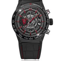 TAG Heuer Carrera Calibre HEUER 01 Steel 45mm Black South Africa, Johannesburg