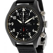 IWC Fliegeruhr Chronograph Top Gun neu 44.5mm Keramik