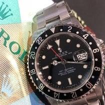 Rolex 16710 Сталь 2007 GMT-Master II 40mm подержанные