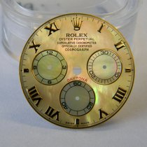 Rolex MOP Yellow dial and hands for 116523, 116528, 4130 movement