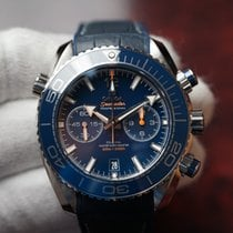 Omega Seamaster Planet Ocean Chronograph Steel 45.5mm Blue United States of America, Florida, Debary