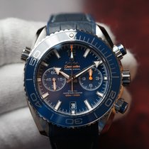 Omega Seamaster Planet Ocean Chronograph Steel 45.5mm Blue