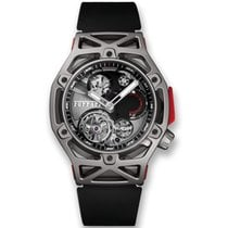 Hublot Techframe Ferrari Tourbillon Chronograph nuevo 45mm Titanio