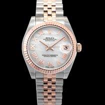 Rolex Roségold Automatik Perlmutt 31mm neu Lady-Datejust