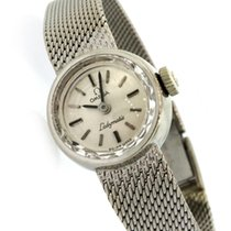 Omega De Ville Ladymatic pre-owned 18mm White gold