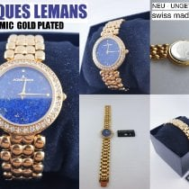 Jacques Lemans Dameur 30mm Kvarts ny Kun ur