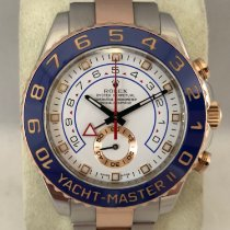 Rolex Yacht-Master II Goud/Staal 44mm Wit Geen cijfers Nederland, Kerkrade