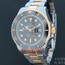 Rolex Sea-Dweller Gold/Steel 43mm Black