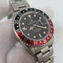 Rolex 16710 Staal 1990 GMT-Master II 40mm tweedehands