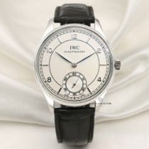 IWC Platinum Manual winding 44mm pre-owned Portuguese (submodel)