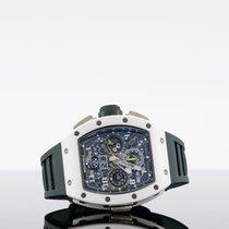 Richard Mille RM 011 Ceramika 42.7mm Przezroczysty Arabskie