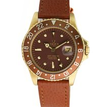 Rolex 1675 Yellow gold 1974 GMT-Master 40mm pre-owned United States of America, California, Los Angeles