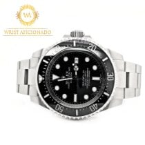 Rolex Sea-Dweller Deepsea Ceramic 44mm Black No numerals