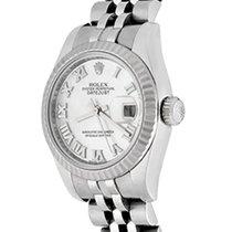 Rolex Lady-Datejust Acier 26mm Nacre Romains