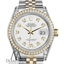 Rolex Lady-Datejust pre-owned 31mm White Date Gold/Steel