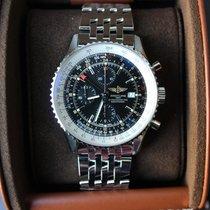 Breitling Navitimer World Automatik Chronograph A2432212.B726....