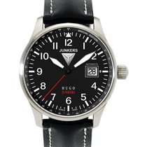 Junkers Hugo Junkers Steel 42mm Black