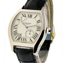 Cartier W1545951 Tortue XL - 8 Day Power Reserve in White Gold...