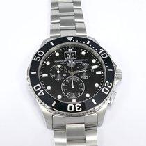 TAG Heuer Aquaracer 300M Chronograph Black CAN1010 Grande Date