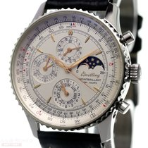 Breitling Montbrillant Ref-A19030 Stainless Steel Box Papers...