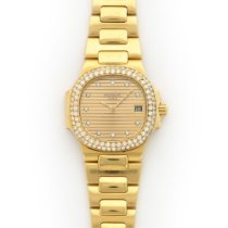 Patek Philippe Yellow Gold Nautilus Diamond Watch