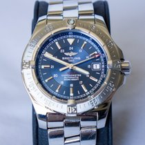 Breitling Colt Automatic Steel 41mm Blue No numerals United States of America, DC, Washington
