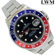 Rolex GMT Master II 16710 Pepsi Stick dial Full Set 2005