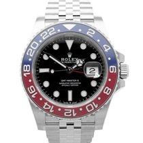 Rolex 126710 BLRO Stahl GMT-Master II 40mm