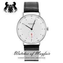 NOMOS Metro 38 Datum Steel 38mm White