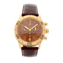 Breguet Or rose 39.5mm Remontage automatique 3820 occasion