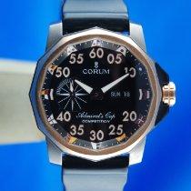 Corum Admiral's Cup (submodel) Titan 48mm Schwarz Arabisch Schweiz, Roveredo