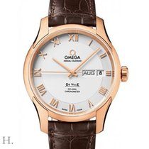 Omega De Ville Co-Axial Red gold 41mm Silver