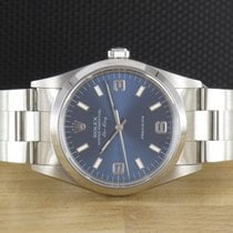 Rolex Air King Precision Staal 34mm Blauw